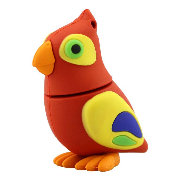 Флешка Попугай