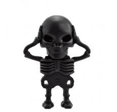 Флешка Скелетон черный