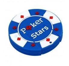 Флешка Фишка для покера синяя