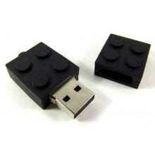 Флешка LEGO черный