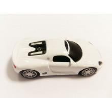 Флешка Автомобиль Porsche белый