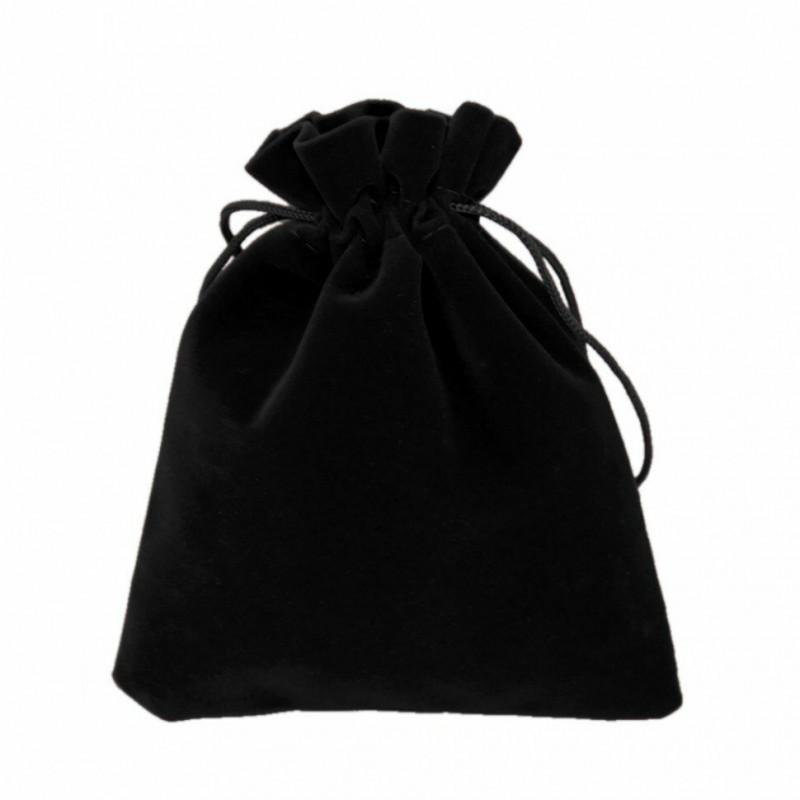 Мешочек бархатный 10*12 черный