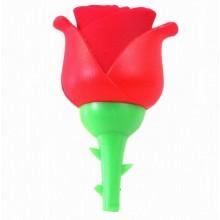 Флешка Роза 10482 красная