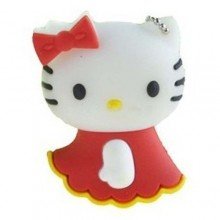 Флешка Hello Kitty в красном платьице 10557