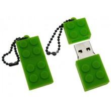 Флешка Конструктор зеленый