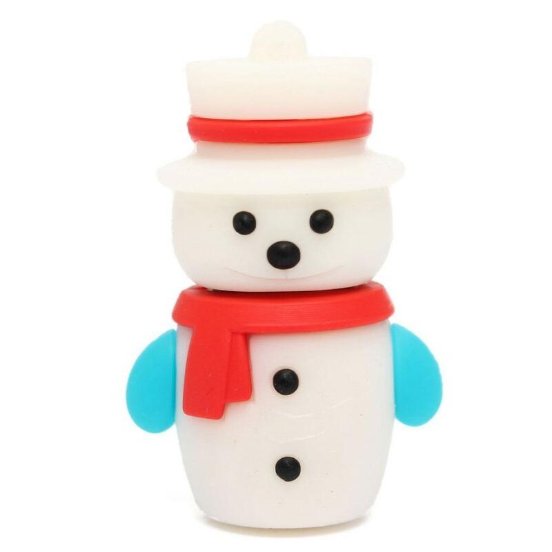 Флешка Новый год. Снеговик 11064