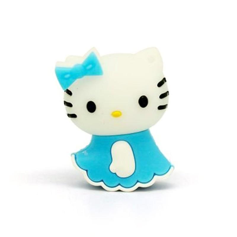 Флешка Hello Kitty в голубом платьице 11274
