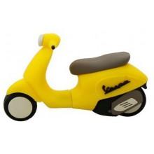 Флешка Скутер желтый