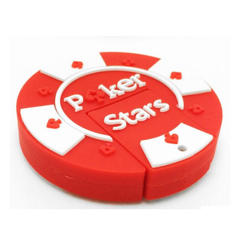 Флешка Фишка для покера красная