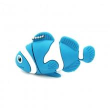 Флешка Рыбка Клоун синяя