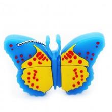 Флешка Бабочка голубая