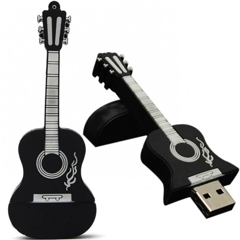 Флешка музыкальная. Гитара классическая 11578 черная