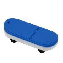 Флешка Скейтборд синий