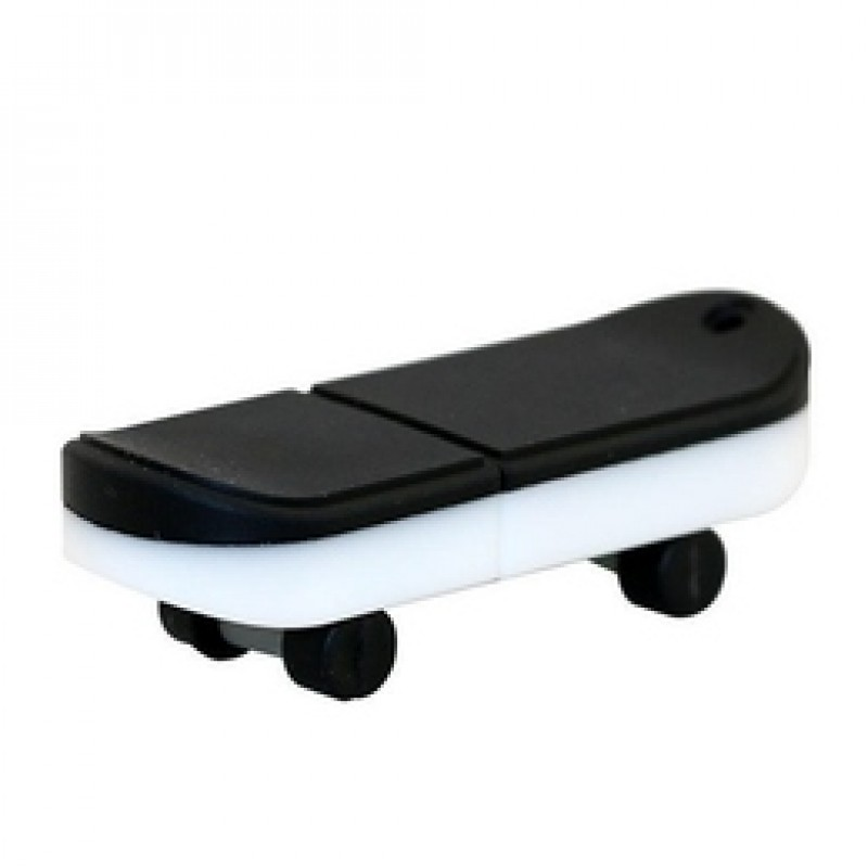 Флешка Скейтборд черный