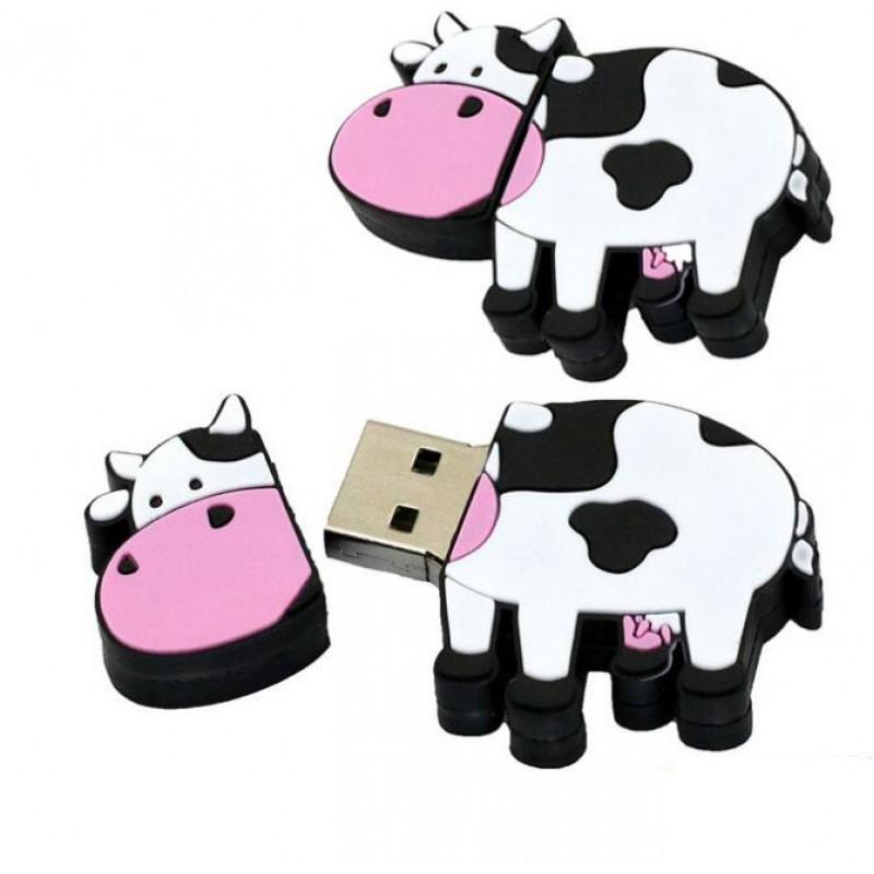Флешка Корова