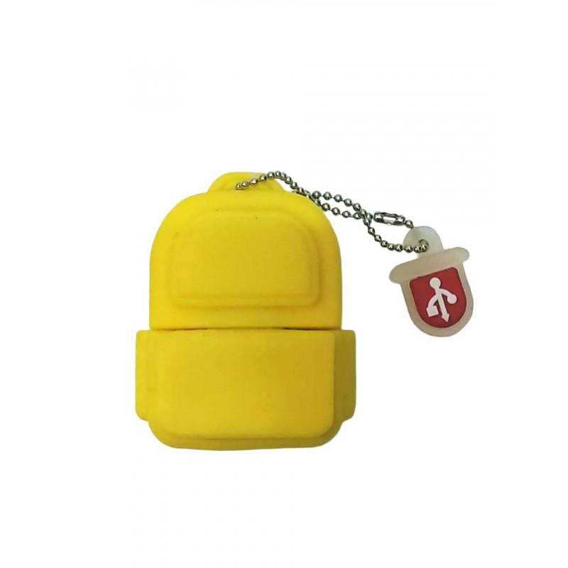 Флешка Рюкзак желтый