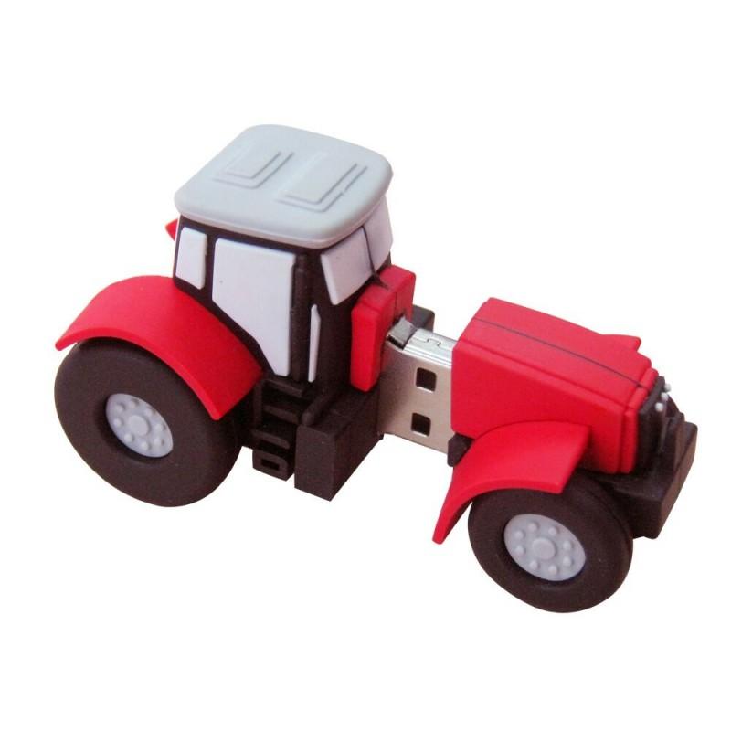 Флешка Строительная техника. Трактор