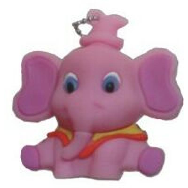 Флешка Слоненок розовый