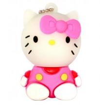 Флешка Hello Kitty сидящая в розовой маечке 10713