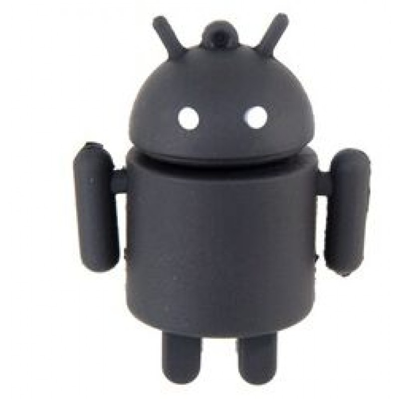 Флешка Робот Андроид черный 10731