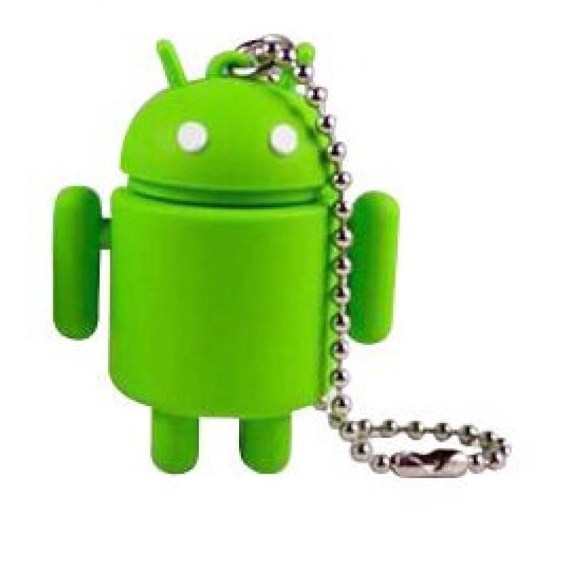 Флешка Робот Андроид зеленый 10732