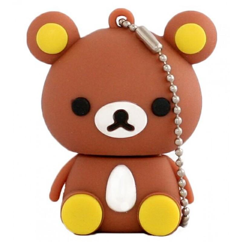 Флешка Медвежонок коричневый