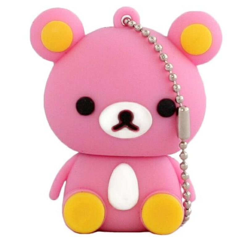 Флешка Медвежонок розовый