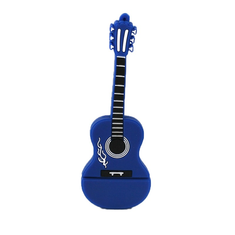 Флешка музыкальная. Гитара классическая синяя 10900