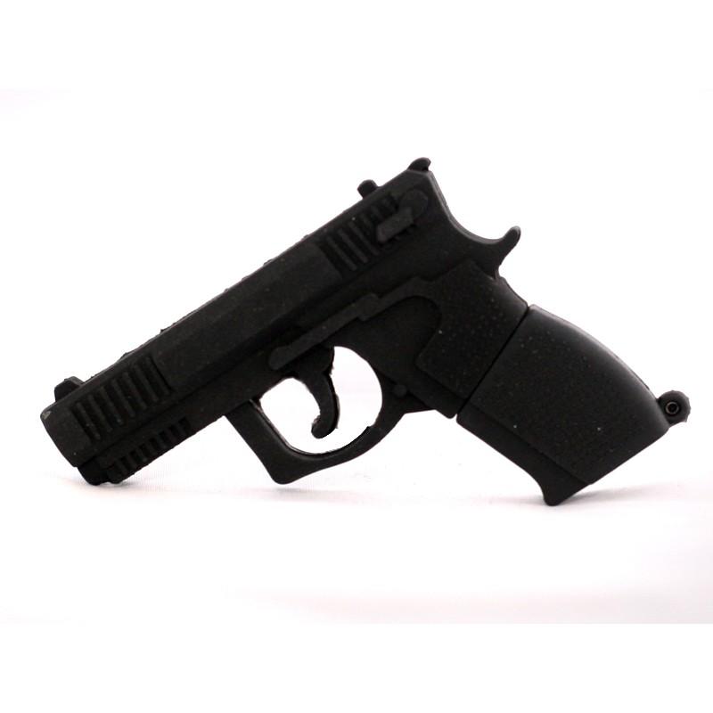 Флешка Пистолет черный