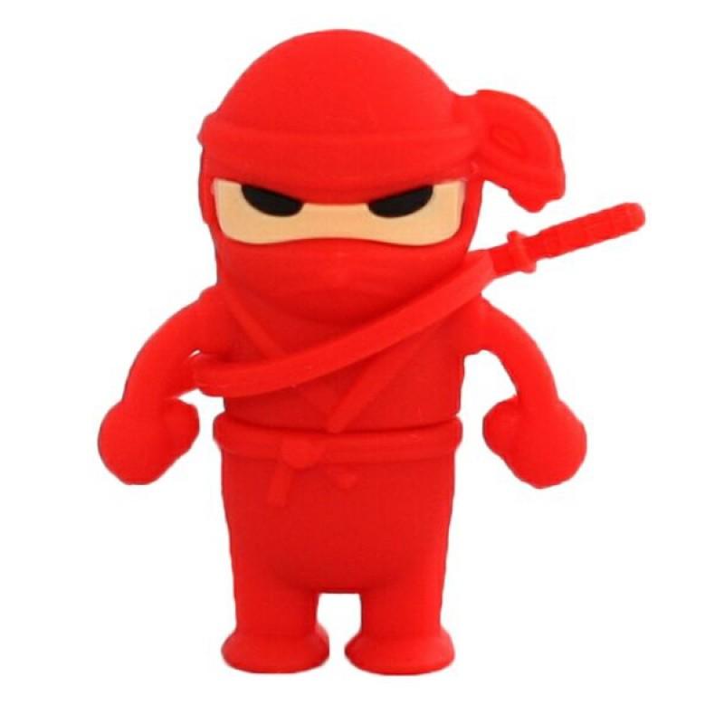 Флешка Ниндзя красный
