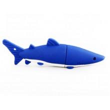 Флешка Акула синяя 11079