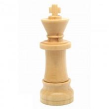 Флешка Шахматная фигура Король, дерево