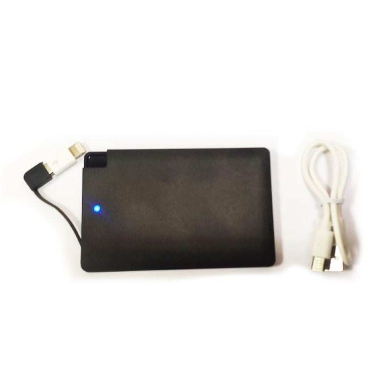 Внешний аккумулятор (powerbank) PB-088 2500 mAh черный