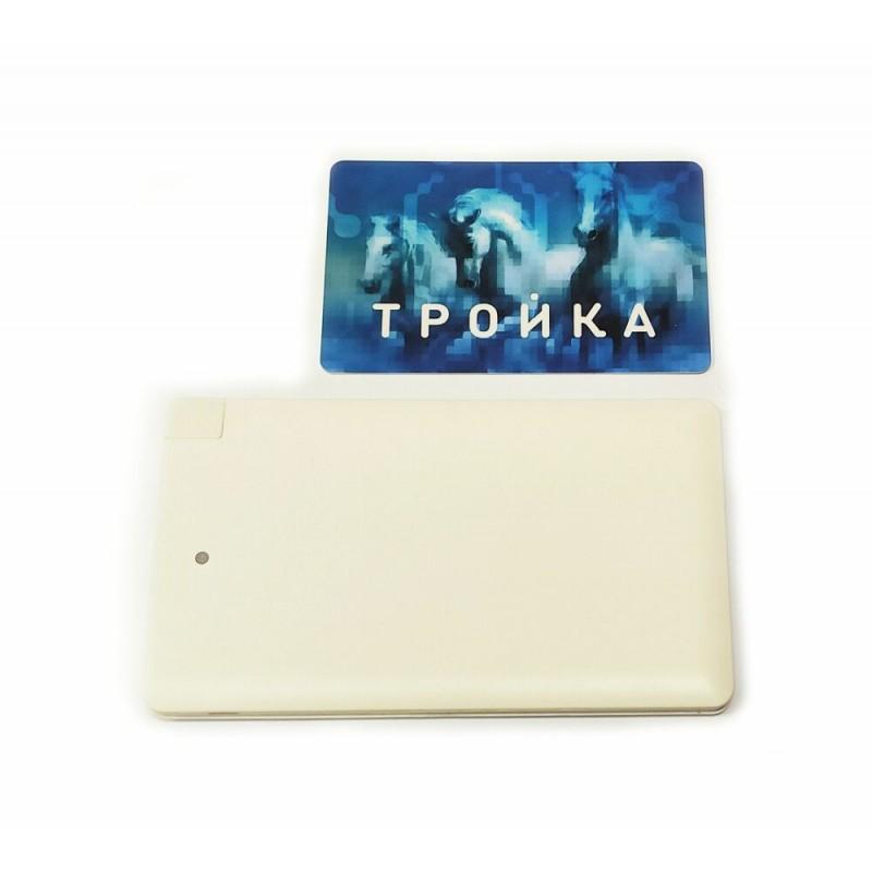 Внешний аккумулятор (powerbank) PB-089 4000 mAh белый