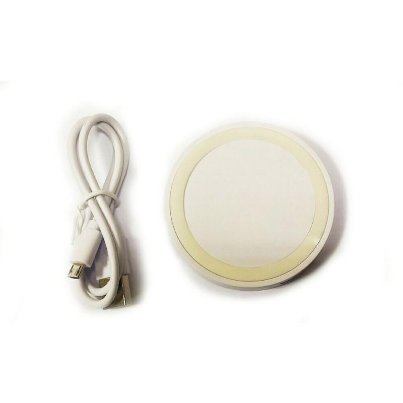 Беспроводное зарядное устройство WSC-08 белый