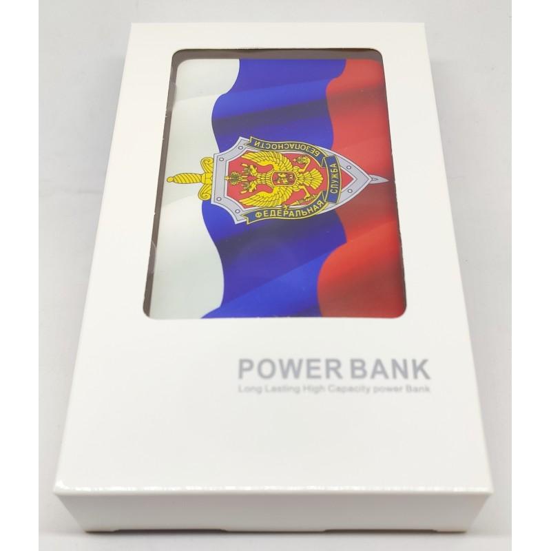 Внешний аккумулятор (powerbank) ГЕРБ ФСБ, 2500 mAh