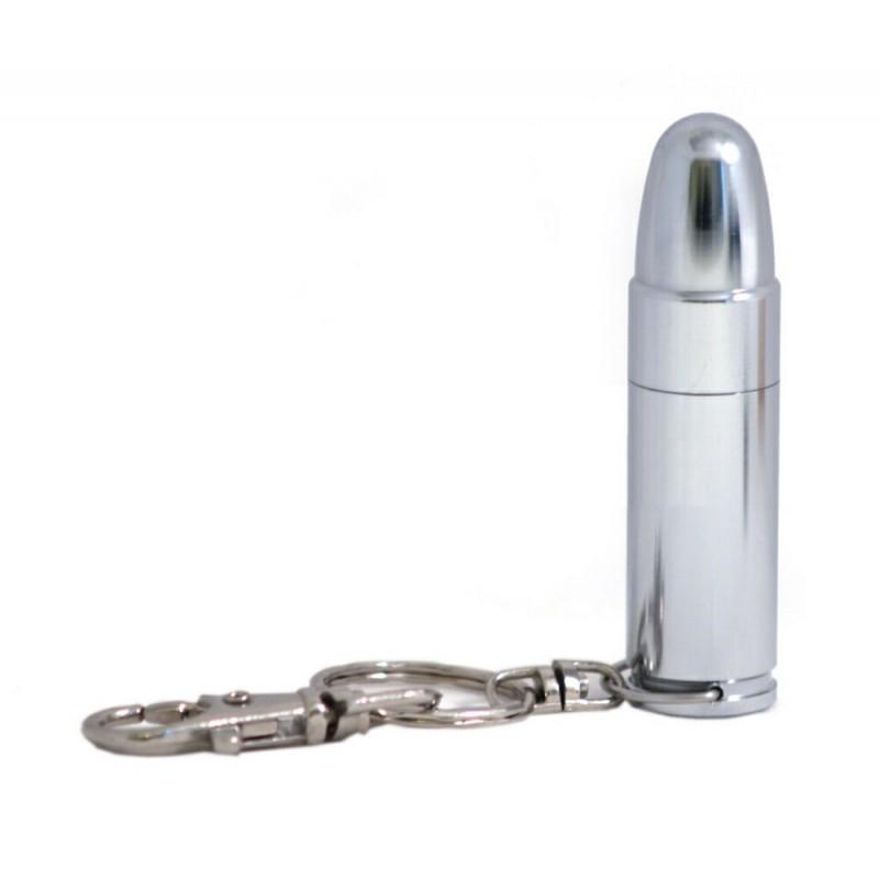 Флешка Патрон пистолетный цвет серебро