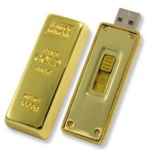 Флешка Слиток золота 60мм