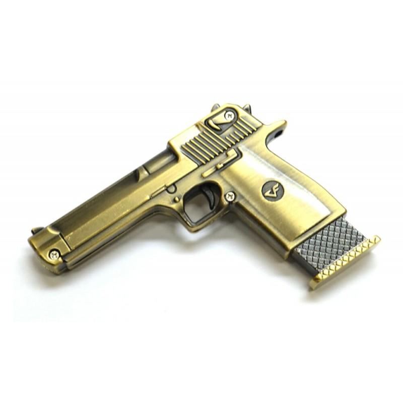 Флешка Пистолет 11362 бронза