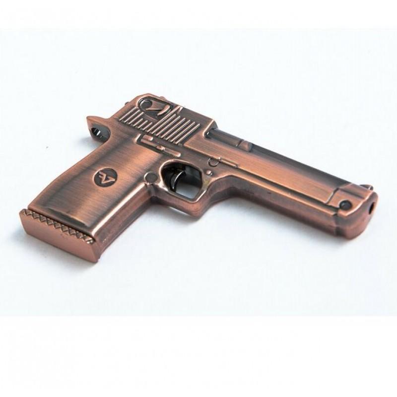 Флешка Пистолет 11506 медь