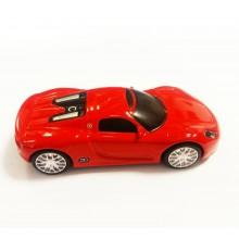 Флешка Автомобиль Porsche красный