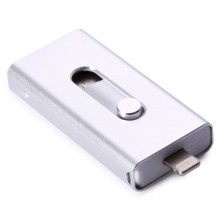 Флешка 32GB OTG USB 3.0 3в1 USB/microUSB/iPhone