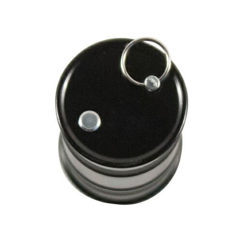 Флешка Бочка металлическая черная