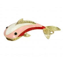 Флешка Дельфин металл розовый