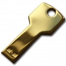 Флешка Ключ золото