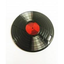 Флешка Грампластинка с красным центром