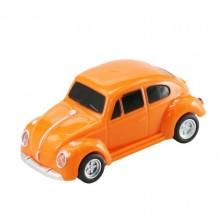 Флешка Автомобиль Жук оранжевый