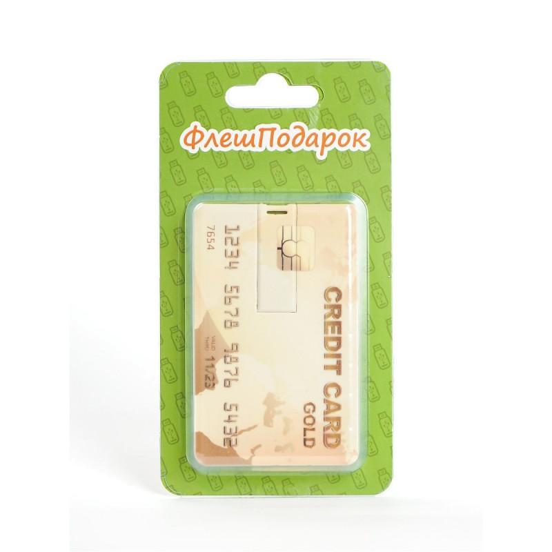 Флешка Кредитная карта пластиковая карта