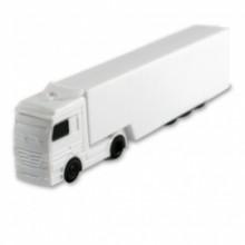 Флешка Автомобиль грузовик белый