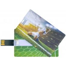 Флешка Футбол пластиковая карта